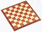 Brown & Natural Wood Chess Board