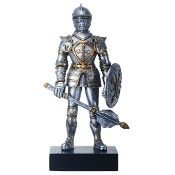 Gothic Knight With Mace