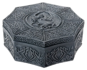 Dragon Themed Octagonal Celtic Box