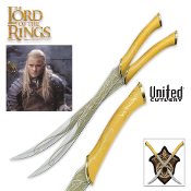 Fighting Knives of Legolas Greenleaf