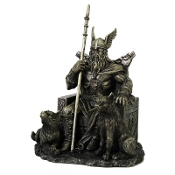 Odin Seated Statue